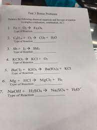 solved test 3 bonus problems balance