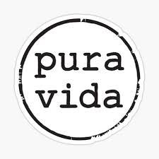 Pura Vida Stickers Redbubble