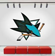 San Jose Sharks Nhl Hockey Wall Decal Decor For Home Car Laptop Sports