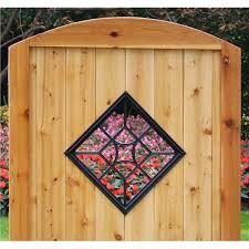 Nuvo Iron Square Decorative Gate Fence Insert Acw54 Walmart Canada