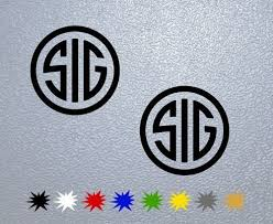 Purchase Sig Sauer Logo Decal 4 Motorcycle In Las Vegas Nevada United States For Us 3 99