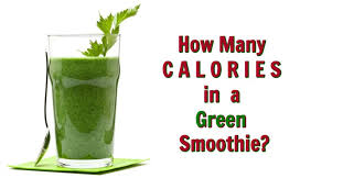 how many calories are in a green