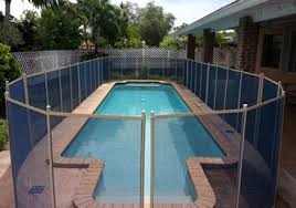 Blue Swimming Pool Fences Baby Guard Pool Fence