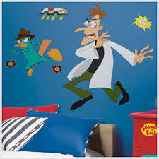 Agent P And Dr Doofenshmirtz Giant Wall Decals Kids Wall Decor Store