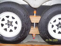 homemade wheel chocks outback