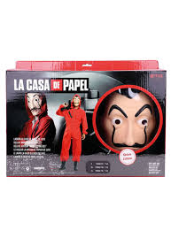 money heist costume express delivery