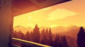 desktop wallpapers from the firewatch game
