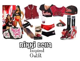 nikki bella inspired outfit wwe