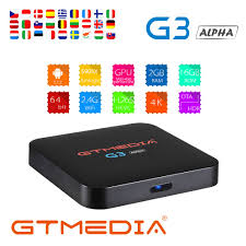 GTMEDIA G3 Android tv box 7.1 Media Player 2G 16G Bluetooth 4.0 4K HDCP  widevine netflix 3D video game Smart Tv Box iptv m3u|Set-top Boxes