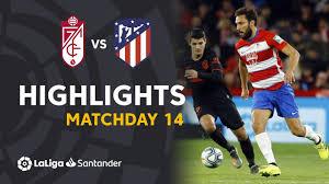 Highlights Granada CF vs Atletico Madrid (1-1) - YouTube
