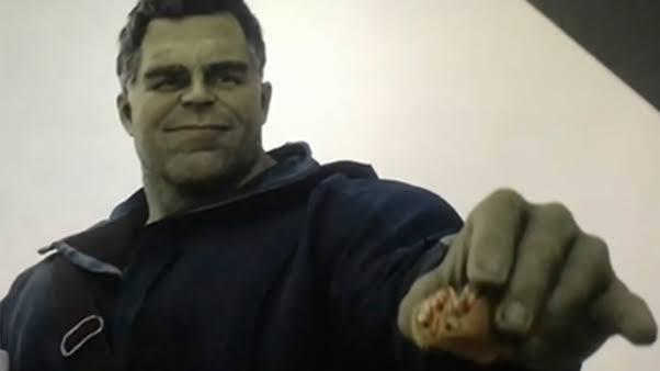 Hulk Gives Scott A Taco In Endgame