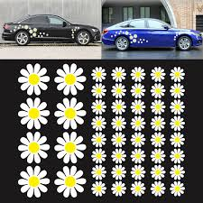 Daisy Flower Stickers Decals Car Camper Retro Art Vw Easy Apply Diy Custom Pack For Sale Online Ebay