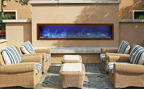 indoor or outdoor electric fireplace