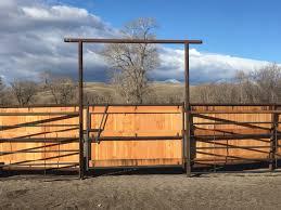 Crazy Mountain Fabrication Custom Gates Livestock Equipment