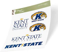 Amazon Com Kent State University Ksu Golden Flashes Ncaa Full Sheet Sticker Vinyl Decal Laptop Water Bottle Car Scrapbook Type 2 Sheet Arts Crafts Sewing
