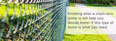 Characteristics Of A Chain Wire Fence Chainwire Fencing Specialist