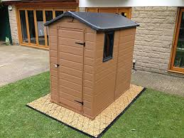the best shed base wooden plastic