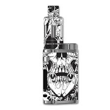 Skin Decal For Eleaf Istick Pico 75w Vape Mod Crazy Lineart Skull Design Itsaskin Com