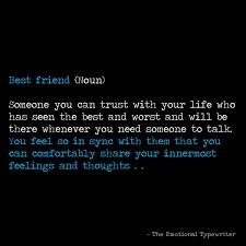 emotionaltypewriter в Твиттере mention your best friend let