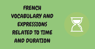 french words and phrases to