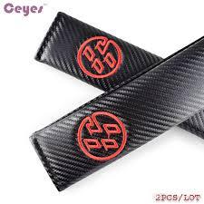 2020 car carbon fiber seat belt cover