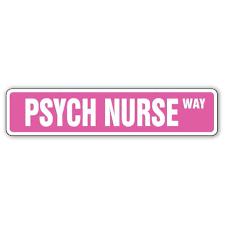 Psych Nurse Street 3 Pack Of Vinyl Decal Stickers For Laptop Car Walmart Com Walmart Com