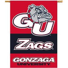 Collegiate Gonzaga 2 Sided 11 X 18 Car Flag Epic Sports