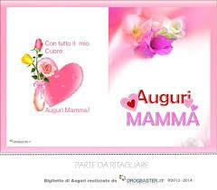 Biglietti e Cartoline Festa della mamma