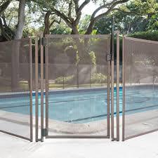 Poolfencediy Wide Pool Fence Diy Flat Top Vinyl Gate Wayfair