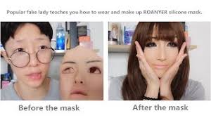 silicone face mask