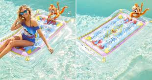 """Perri Konecky on Flipboard: This Magic Carpet Pool Float Is About to Make  Summer """"Shining, Shimmering, Splendid"""""""