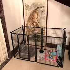 Dog Fence Indoor Isolation Fence Dog Cage Large And Medium Sized Small Dogs Domestic Pet Dog Fence To Prevent Escape From Prison