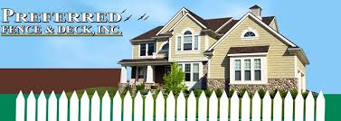 Fencing Services Preferred Fence Deck Inc Findlay Oh