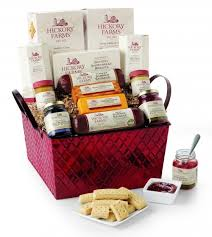 pinky giveaway hickory farm gift basket