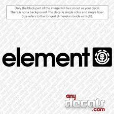 Car Decals Car Stickers Element Car Decal Anydecals Com