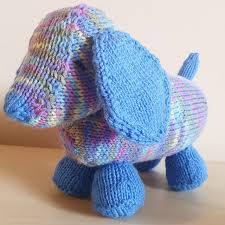 20 free toy dog knitting patterns to