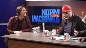 Jim Carrey At Norm Macdonald Live