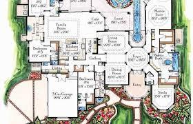 room mediterranean house plans mansion