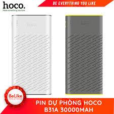 kiểm tra hàng ,test thử hàng trước khi thanh toán} Pin Sạc Dự Phòng Hoco  B31A 30.000mah - Hàng chính hãng