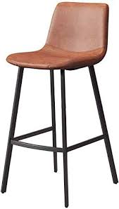 qtqzdd faux leather bar stools rustic