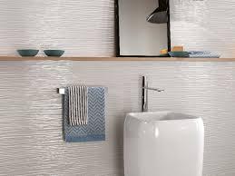 atlas concorde 3d wall wave white