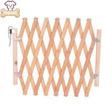 Pet Dog Gate Retractable Wood Fence Safety Baby Stair Dogmall Shopee Philippines