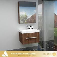 glass wash basin mirror cabinet design