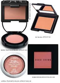 5 summer friendly apricot blushes beauty