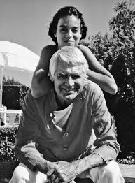 Cary Grant with daughter, Jennifer Grant.   Hollywood, Looks, Fotos