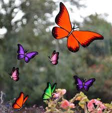 Butterfly Decal Butterfly Stickers Butterfly Mirror Window Etsy Butterfly Decal Butterfly Mirror Custom Window Clings