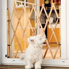 Hakuna Pets Timber Expanding Pet Barrier Bunnings Warehouse