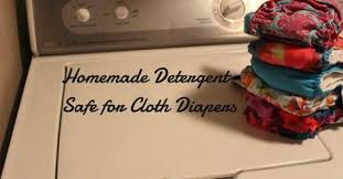 homemade laundry detergent safe for