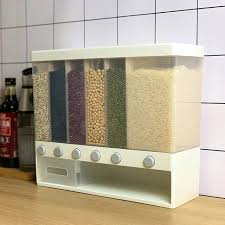 9 10l wall mounted dry food dispenser