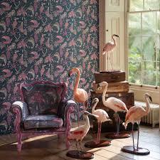 audubon pink wallpaper ia